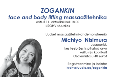 ZOGANKIN face and body lifting massaažitehnika esitlus