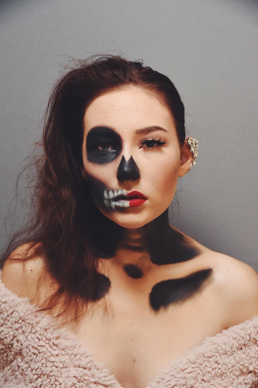Halloweeni meik Ilona Tint